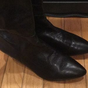Nine West Leather upper Boots